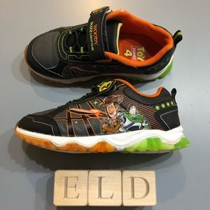 Toy Story 4 Woody & Buzz Lightyear Light Up Shoes
